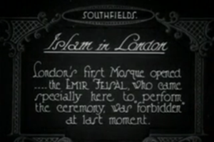 Islam In London Version 1 Of 2 & Cuts 1926