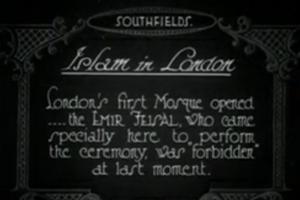 Islam In London Version 1 Of 2 & Cuts 1926
